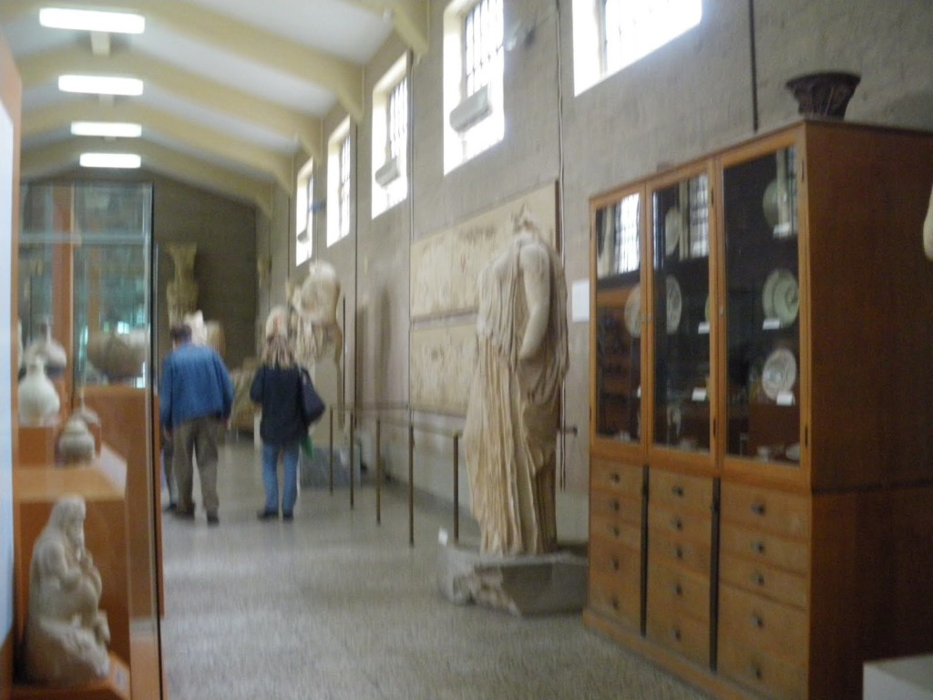 Museu no Sitio Arqueologico em Corinto