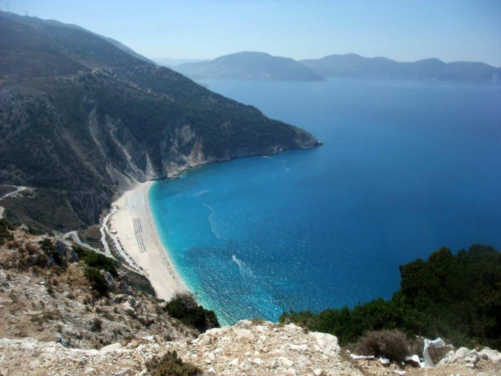 Praia Mytos de Kefaonia