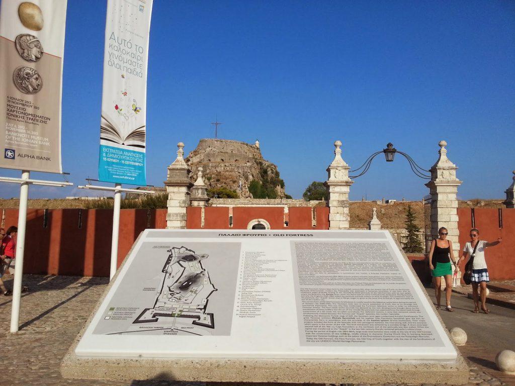 Velha Fortaleza de Corfu