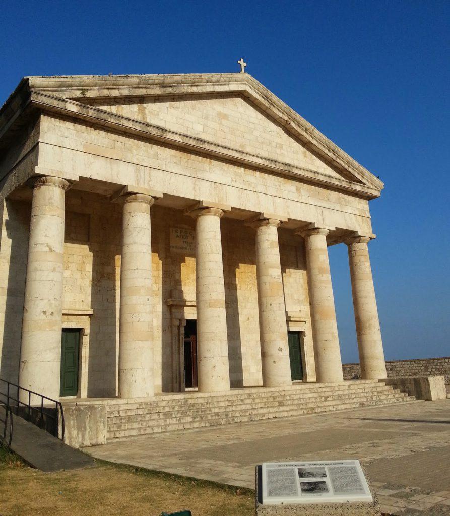 Igreja Sao jorge de Corfu