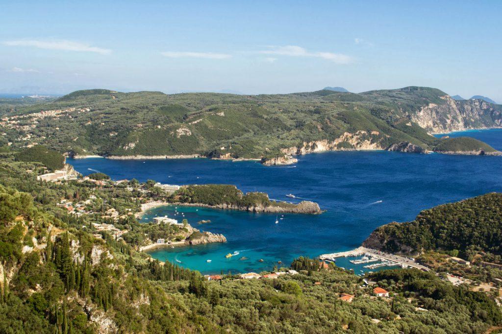 Paleokastritsia em Corfu