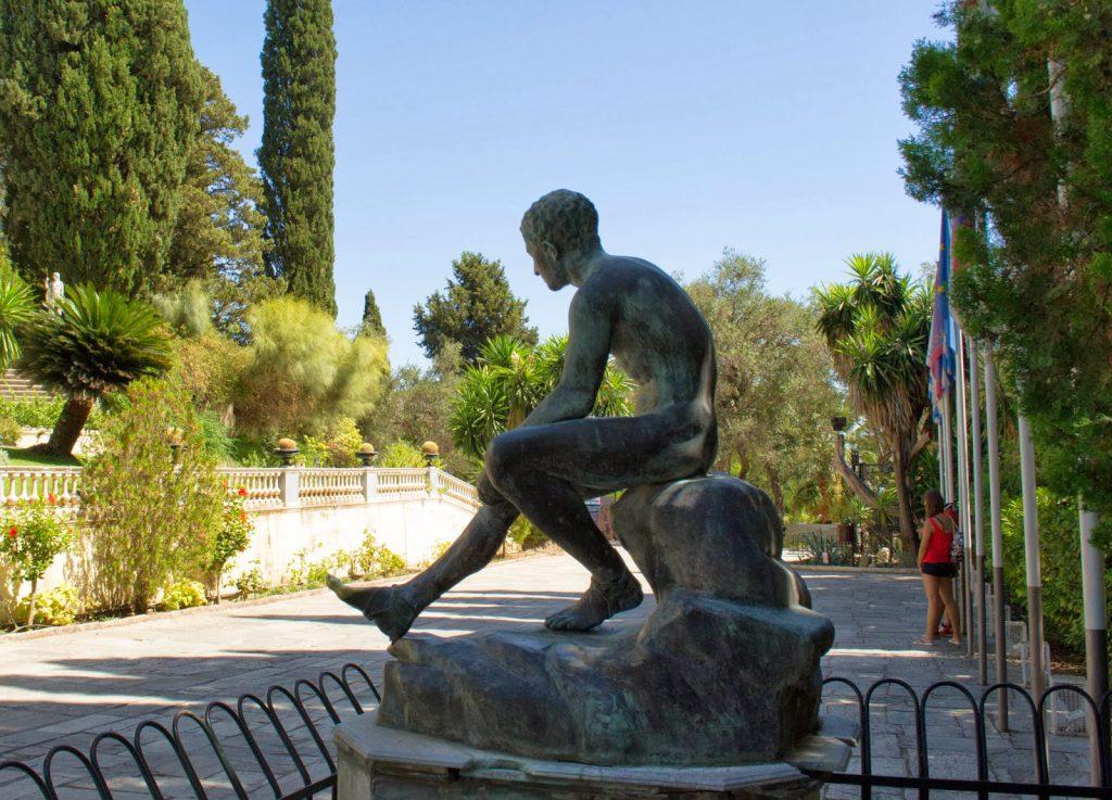 Palácio Achilleion em Corfu