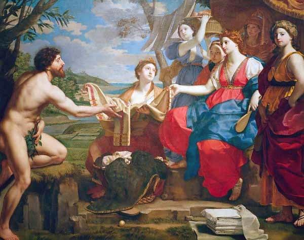 Nausícaa e Ulisses