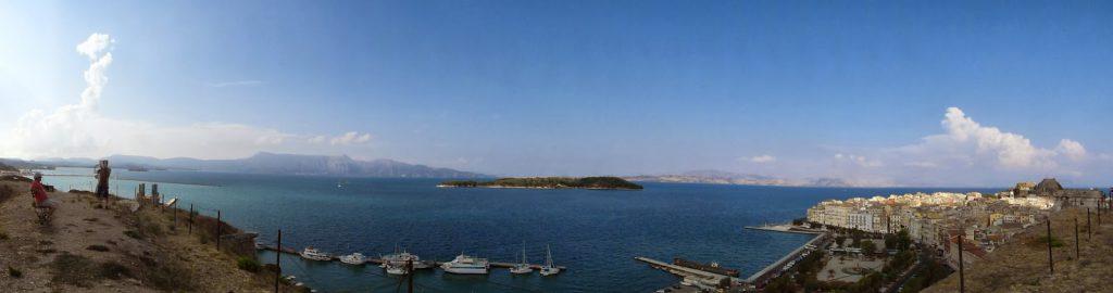 Nova Fortaleza em Corfu