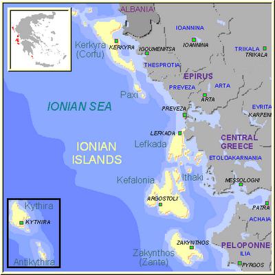 Ilhas Jônicas
