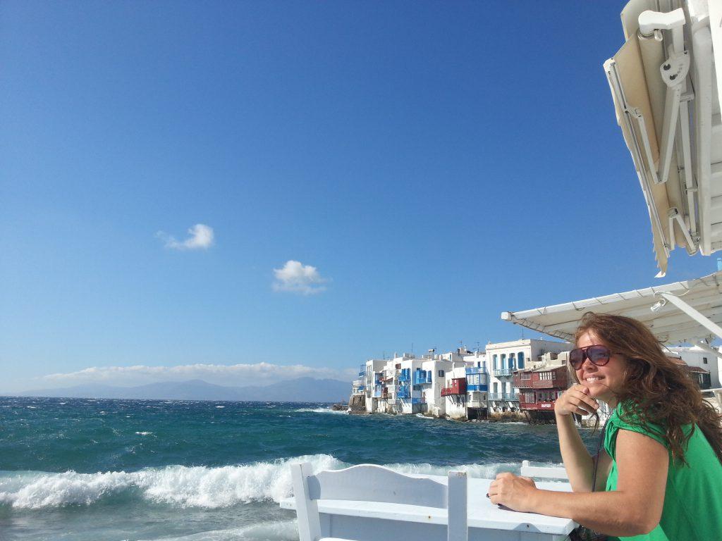 Virna Lize em Mykonos