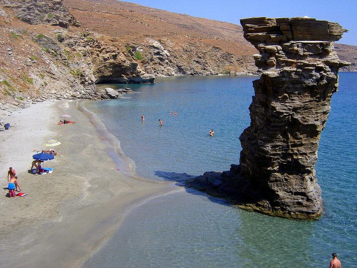 Praia Agios Prokopios em Naxos