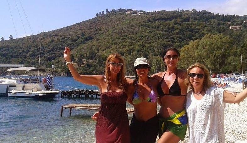 Dançando Zorba na ilha de Corfu
