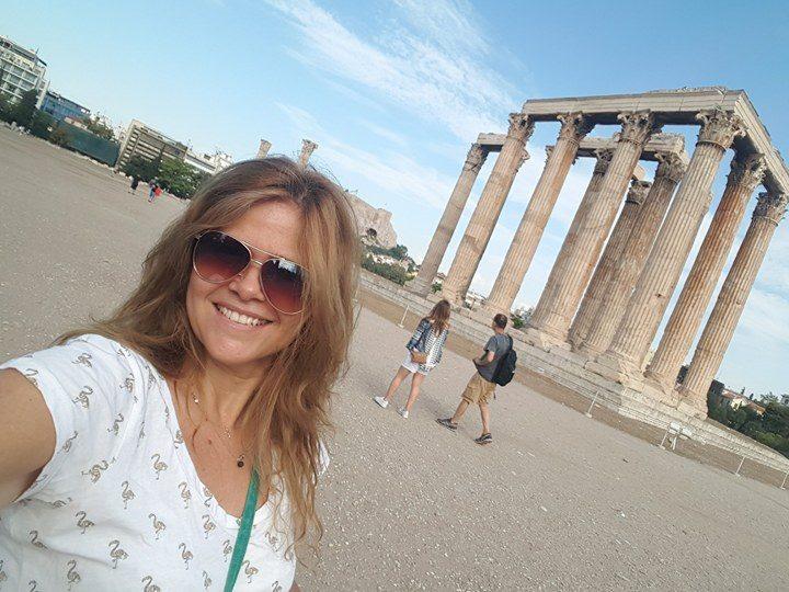 Uma Brasileira na Grécia
