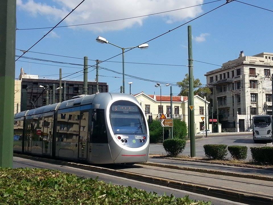 Tram de Atenas