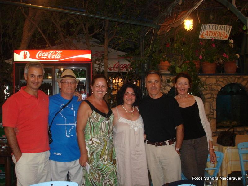 Maria Atherino e Alceu Neves em Kastellorizo