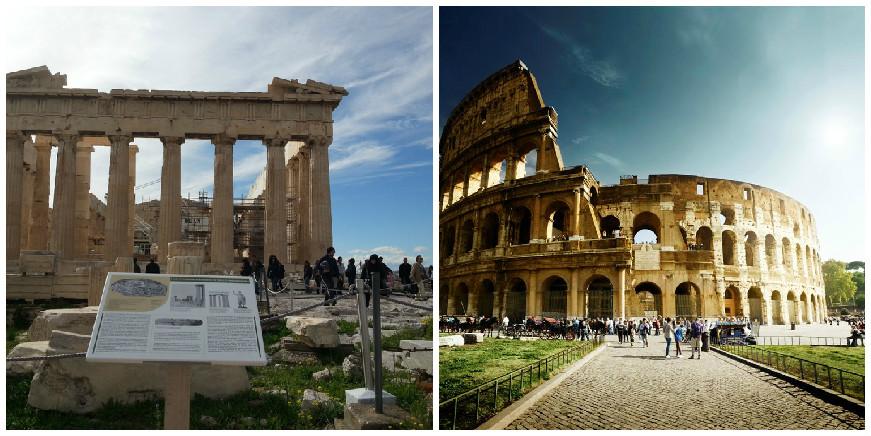 Viagem na Grécia e Itália