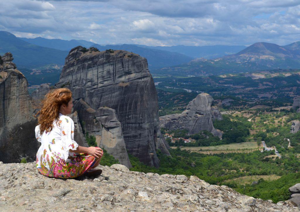 Uma Brasileira em Meteora