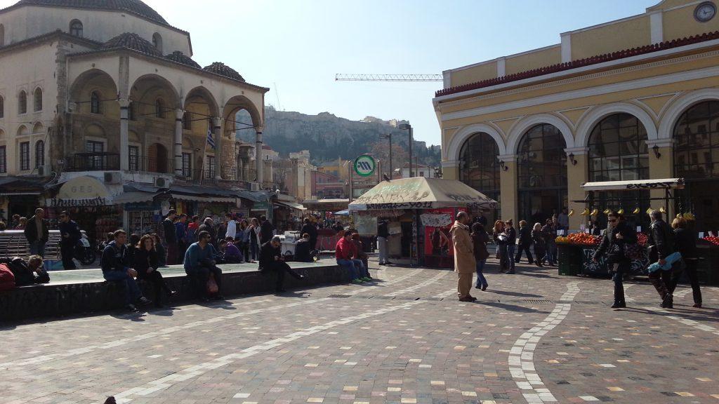 1 dia em Atenas