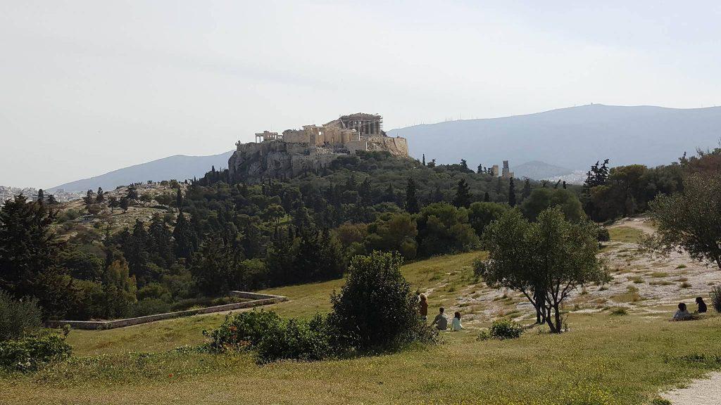 Monte Pnyx em Atenas