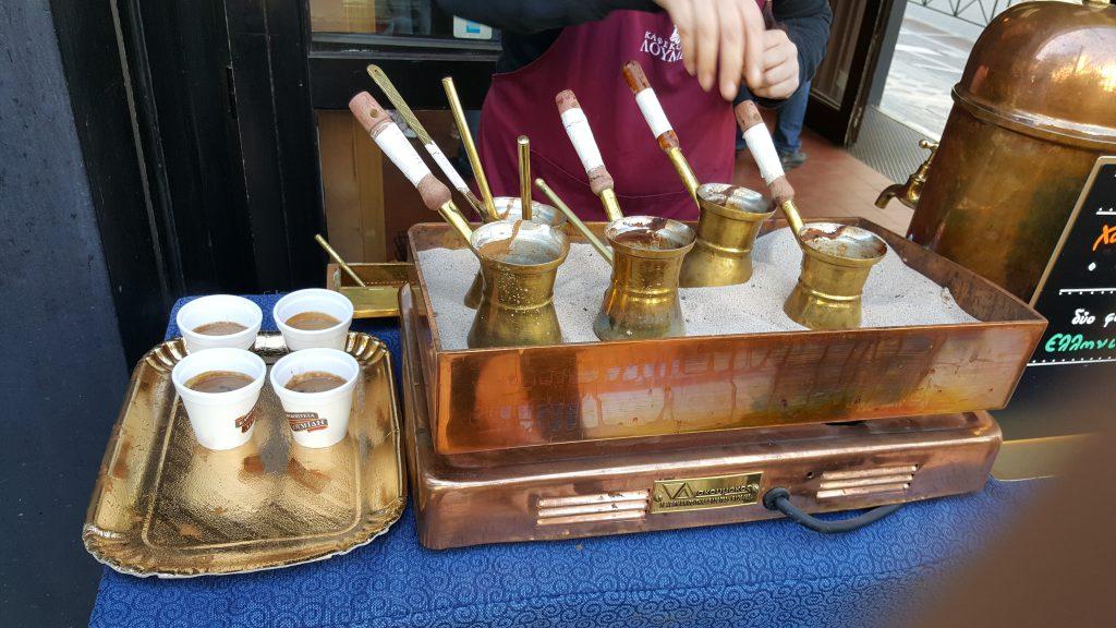 Cafe tradicional Grego