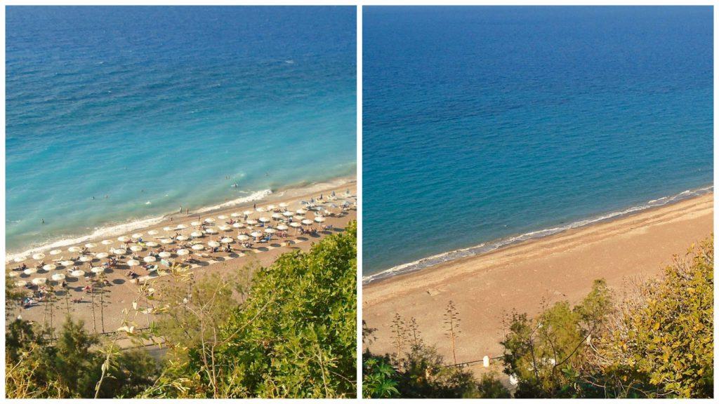 Verao e Inverno na ilha de Rhodes