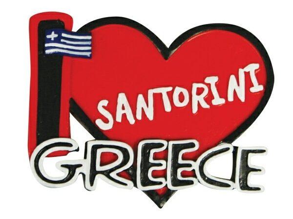 Eu amo Santorini
