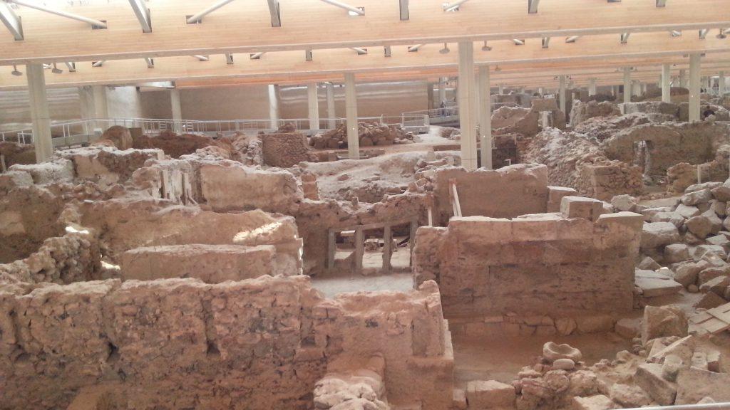Sitio Arqueológico Akrotiri