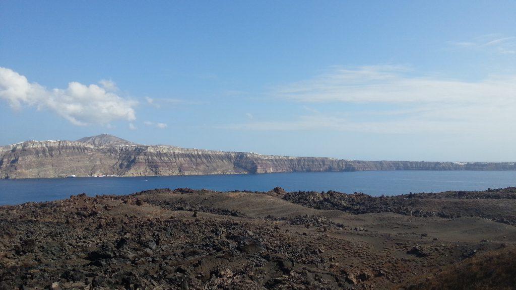 Vulcão de Santorini