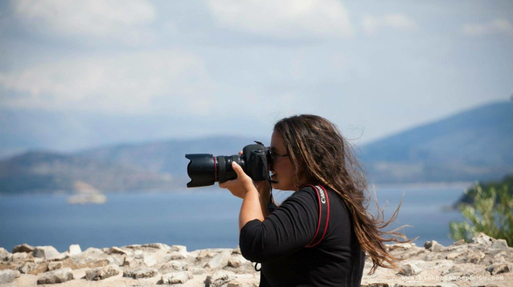 Ensaio fotográfico na Grécia