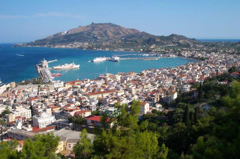 Como chegar na ilha de Zakynthos