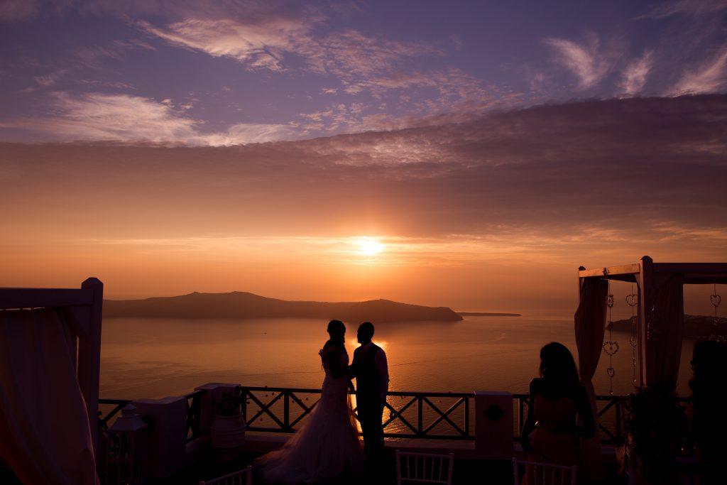 Fotógrafo de casamento na Grécia