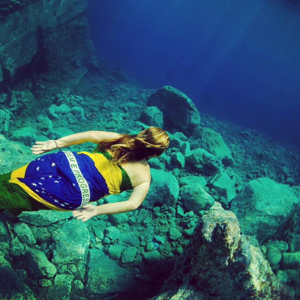 Fotos Subaquáticas em Santorini