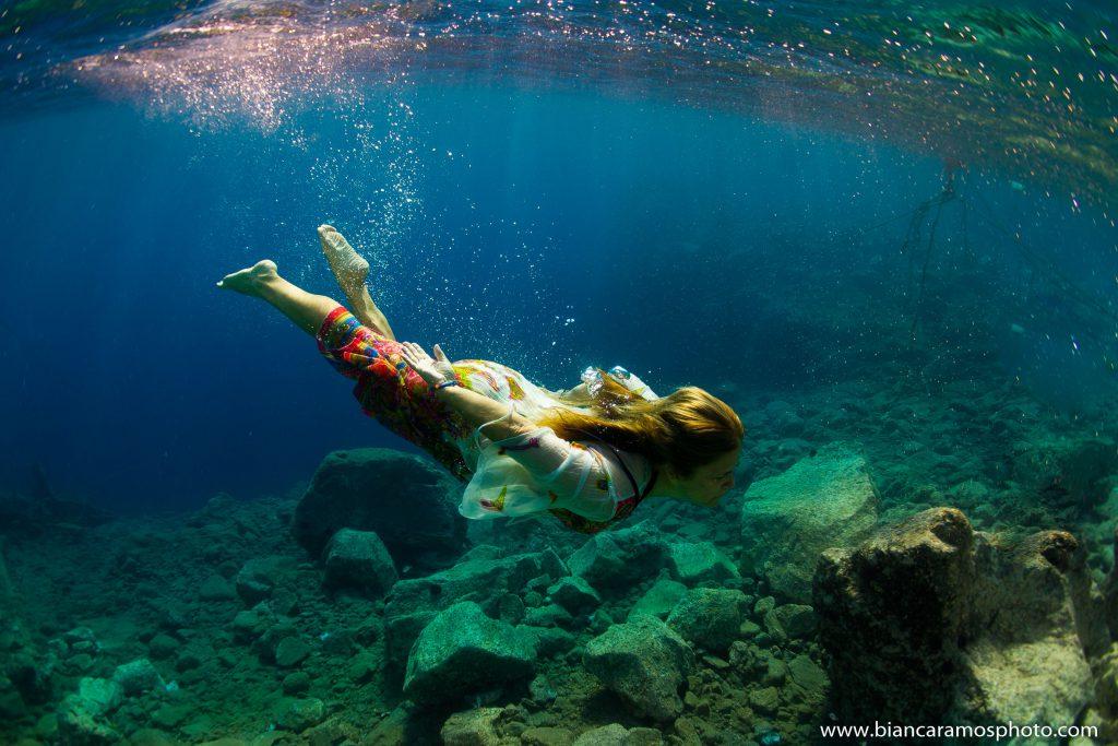 Fotos Subaquáticas na Grécia